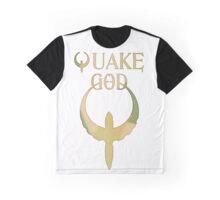 Quake God - Camo version Graphic T-Shirt