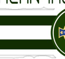 Euro 2016 Football - Northern Ireland (White) Sticker
