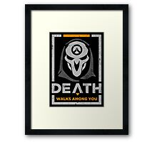 Reap it off Framed Print