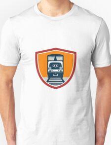 Diesel Train Freight Rail Crest Retro Unisex T-Shirt