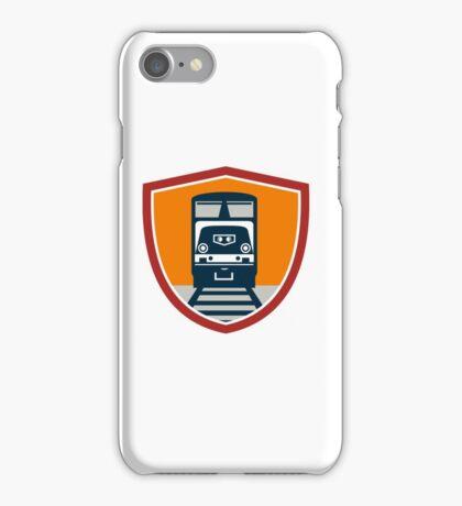 Diesel Train Freight Rail Crest Retro iPhone Case/Skin