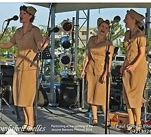 The Bombshell Belles - Jezzine Barracks Precinct - 2014 by Paul Gilbert