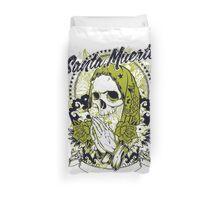 Santa Muerte Duvet Cover