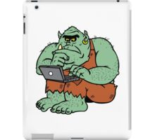 Internet Troll iPad Case/Skin