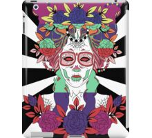 Colorful Day of the Dead Women iPad Case/Skin