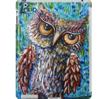 Live Out Loud iPad Case/Skin