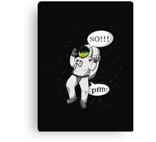 Don't fart in a space suit Canvas Print