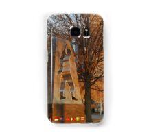 Golden Memorial Samsung Galaxy Case/Skin