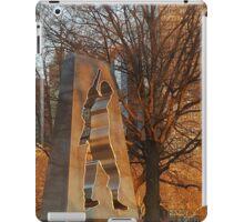 Golden Memorial iPad Case/Skin