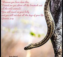Bible Verse Genesis 3:14 by DianaBozart