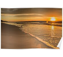 Double Island Point Sunrise Poster