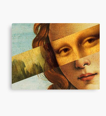 Botticelli's Venus and Mona Lisa Canvas Print
