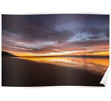 Teewah Beach Morning Glow Poster