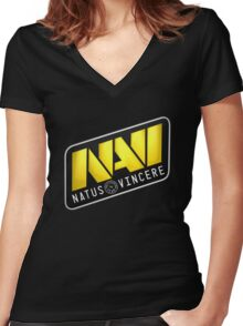 Natus Vincere Women's Fitted V-Neck T-Shirt