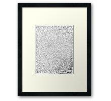 WAVVY Framed Print