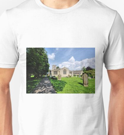 St Andrews Church, Grinton Unisex T-Shirt