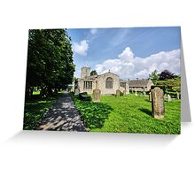 St Andrews Church, Grinton Greeting Card