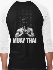 Muay Thai Men's Baseball ¾ T-Shirt