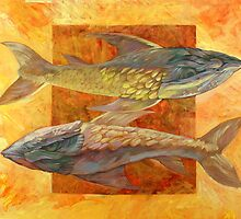 Pesti (Fish) by painterflipper
