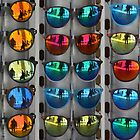 Reflections in sunglasses by Arie Koene