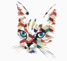 POP ART CAT Kids Tee
