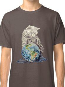 Our feline deity shows restraint Classic T-Shirt