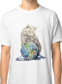 Our feline deity shows restraint Classic T-Shirt