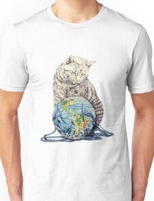 Our feline deity shows restraint Unisex T-Shirt