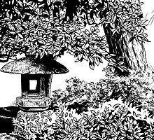 Stone Lantern 4, Kanazawa by Sundayink