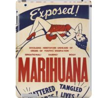 Adults Only: Marihuana Exposed! iPad Case/Skin
