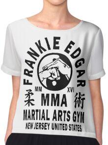 Frankie Edgar Martial Arts Gym Chiffon Top