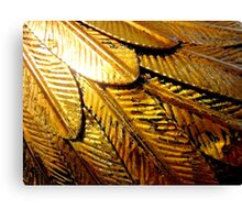 On Gilded Wings 2 Canvas Print