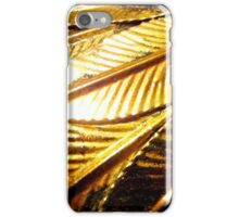 On Gilded Wings 1 iPhone Case/Skin