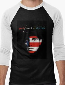 Garth BRooks Men's Baseball ¾ T-Shirt