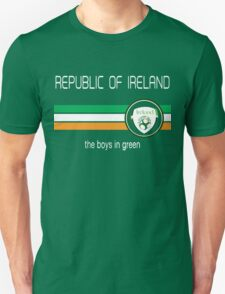 Euro 2016 Football - Republic of Ireland  Unisex T-Shirt