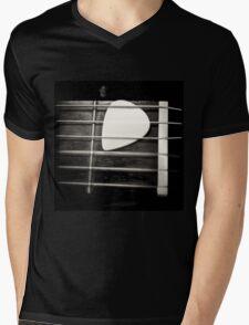 Nylon Mens V-Neck T-Shirt
