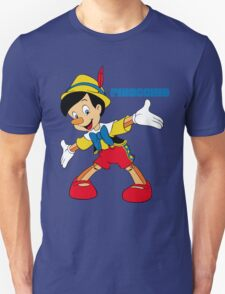 Pinocchio Cartoon Movie Funny Unisex T-Shirt