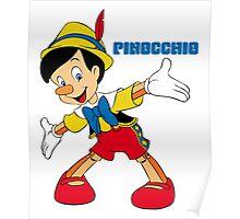 Pinocchio Cartoon Movie Funny Poster