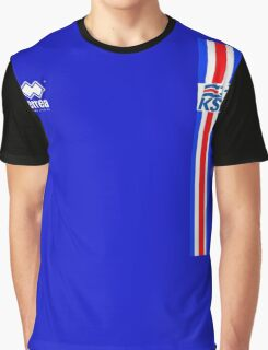Euro 2016 Football - Iceland  Graphic T-Shirt