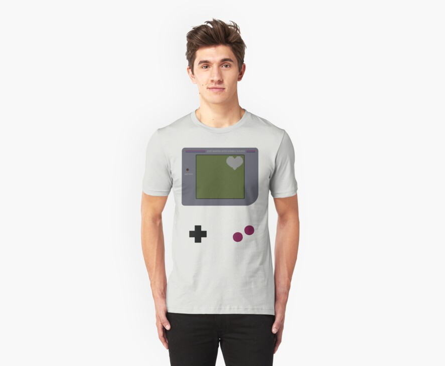Gameboy Heart by FlyNebula