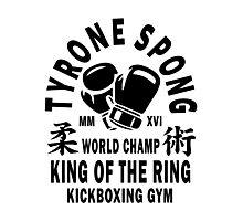 Tyrone Spong Kickboxing Gym Photographic Print