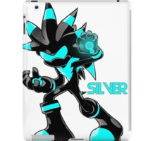 The Hedgehog Sonic Silver iPad Case/Skin