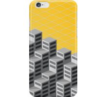Isometric background iPhone Case/Skin
