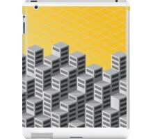 Isometric background iPad Case/Skin
