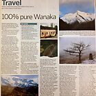 Travel article - 100 per cent pure Wanaka by Meni