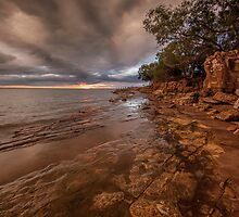 Fannie Bay Fishing by Andrew Brooks