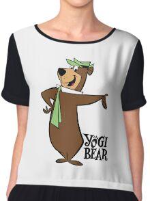 Yogi Bear Chiffon Top