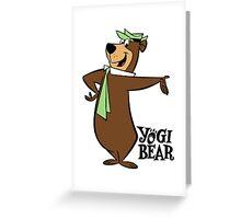 Yogi Bear Greeting Card
