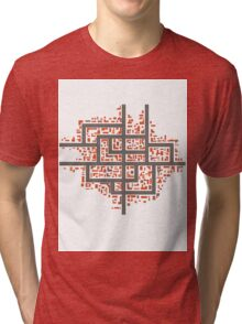 City maps Tri-blend T-Shirt