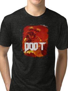 Doom, Doot Tri-blend T-Shirt